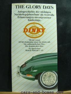"Matchbox Dinky Katalog ""The Glory Days"" 1989 (20186)"