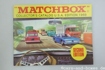 Matchbox Collector's Catalogue U.S.A. Second Edition 1969 (20371)