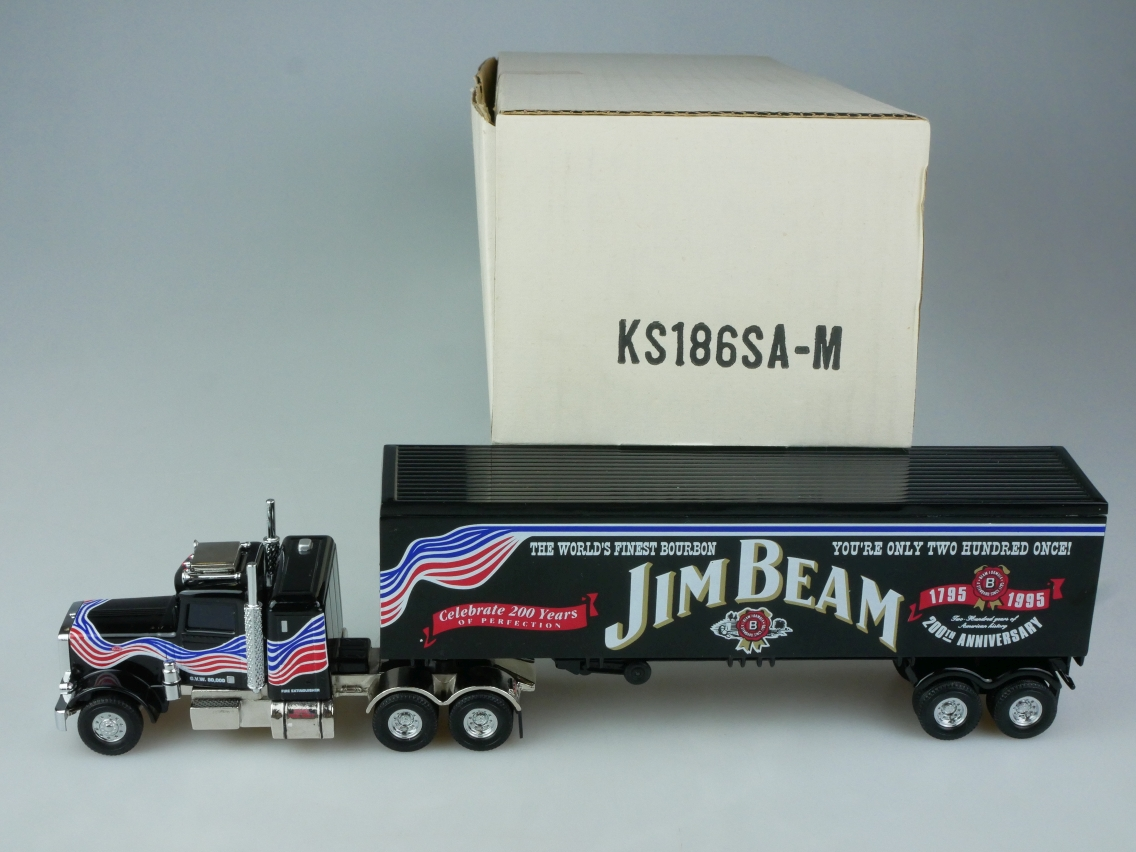 KS186/SA Peterbilt Jim Beam - 47655
