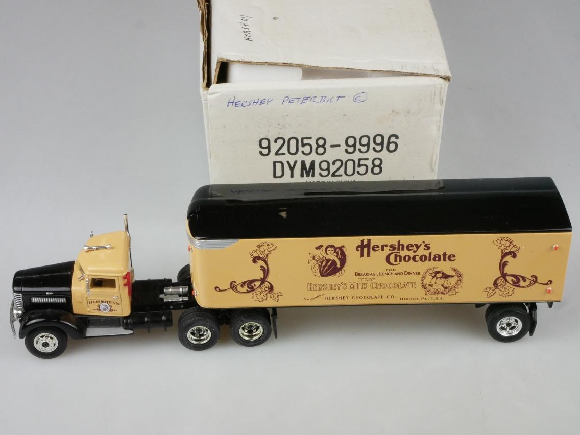 DYM92058 1939 Peterbilt Hershey's - 47727