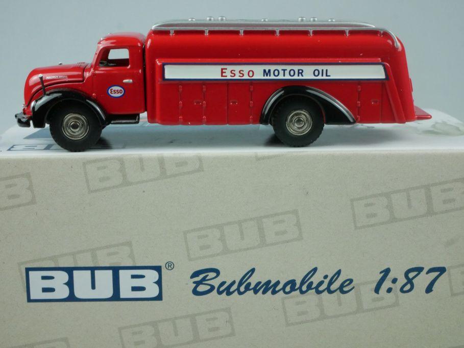 BUB 1/87 Bubmobile 07425 Magirus Deutz S6500 Tankwagen Esso 2007  w/ Box 113384