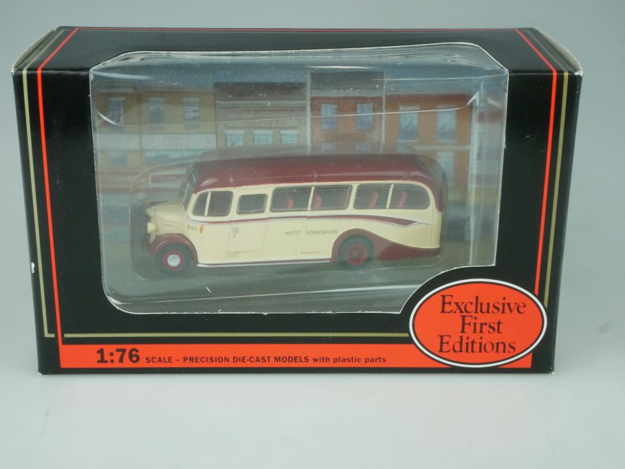 EFE 1/76 Bus Bedford OB Coach WEST YORKSHIRE 20112 in Box - 113572