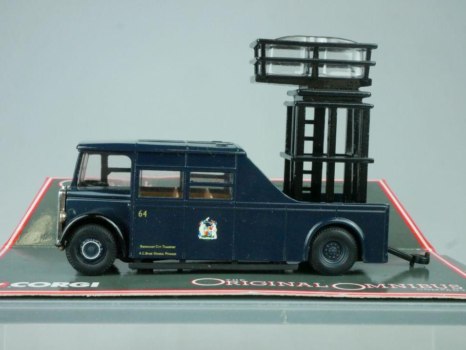 Corgi 1/76 Guy Arab Tower Wagon Birmingham City Transport + Box 113639