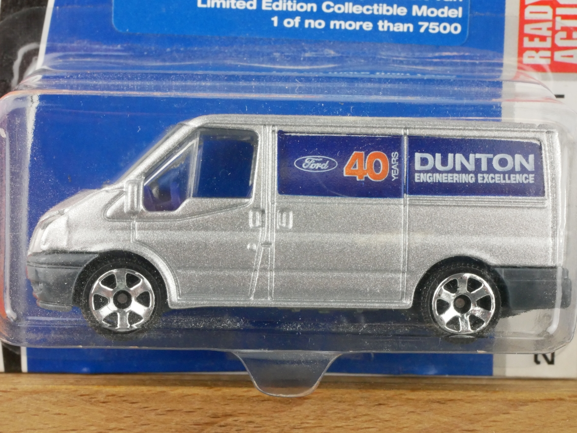 Matchbox Ford Transit 40 Years Dunton 2008 limited - 10074
