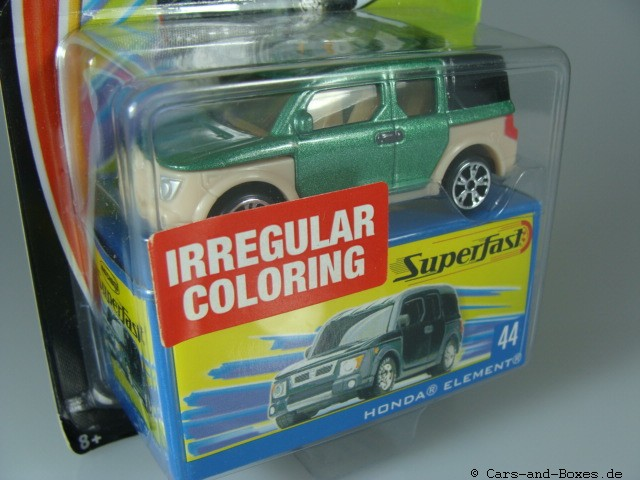 44 Honda Element - Irregular Coloring - 10230