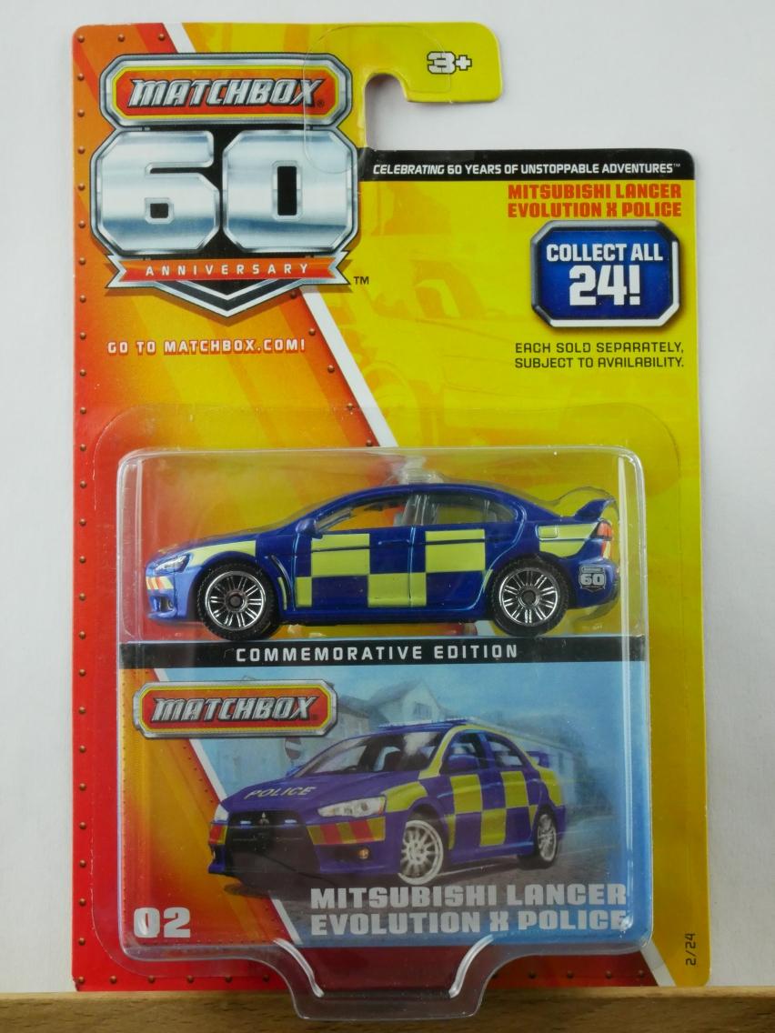 02 Mitsubishi Lancer Evolution X Police - 10364