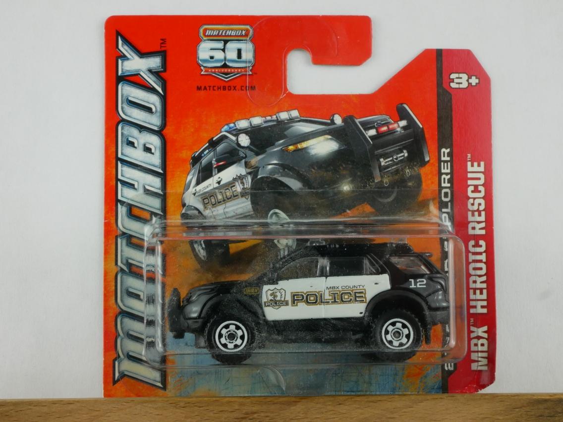 Ford Explorer Police - 11123