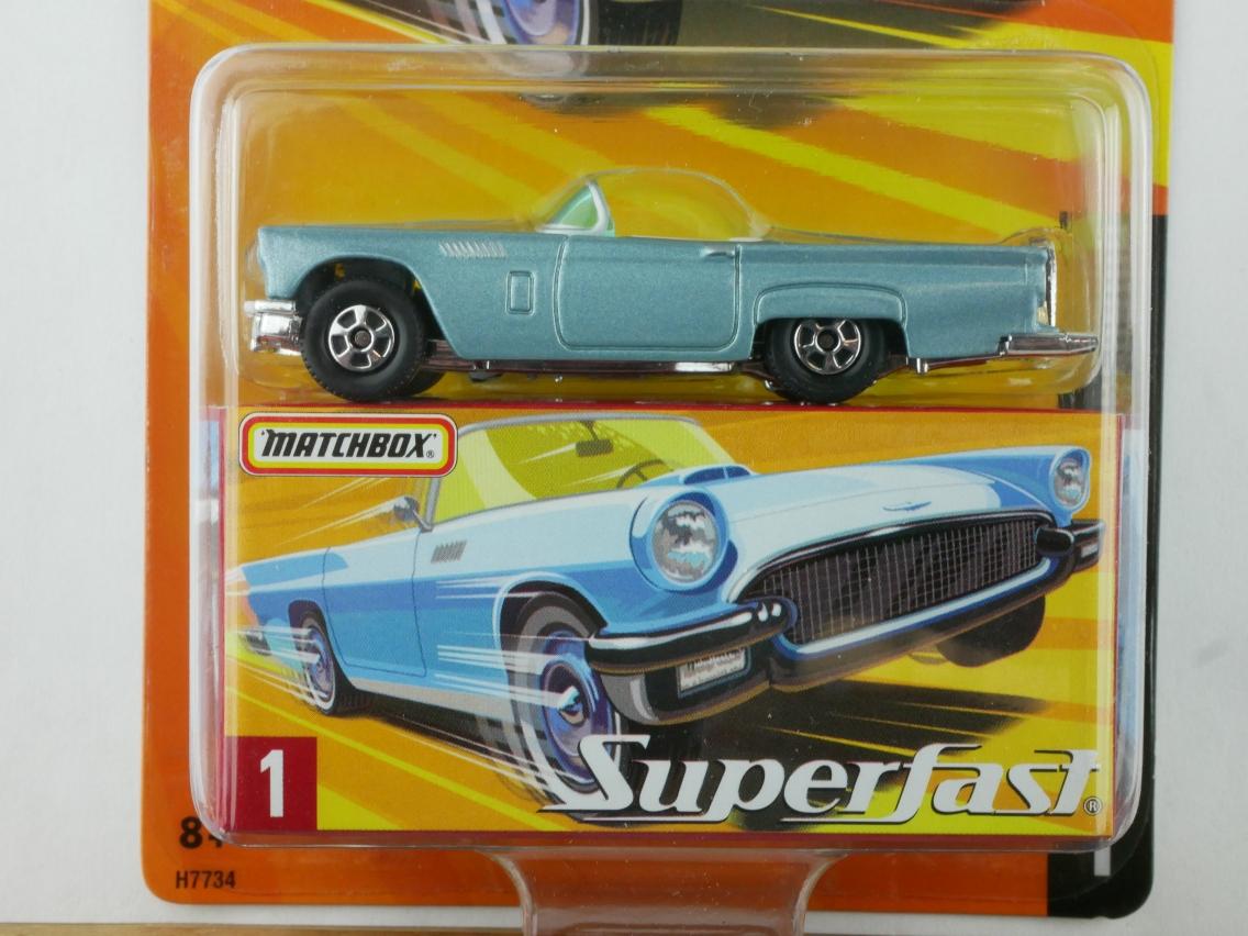 01 1957 Ford Thunderbird - 12001