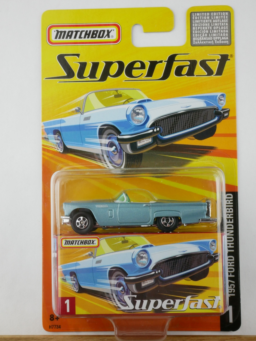01 1957 Ford Thunderbird - 12001