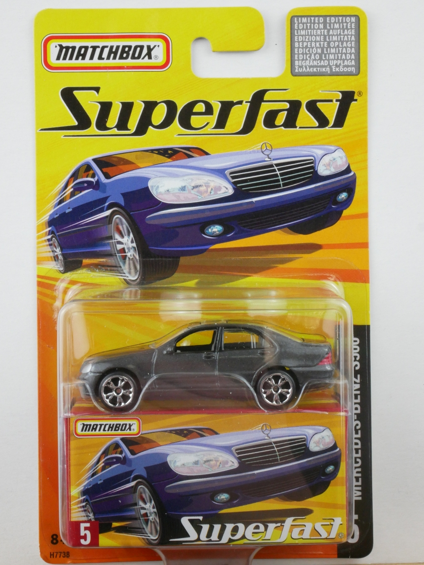 05 Mercedes Benz S500 - 12009