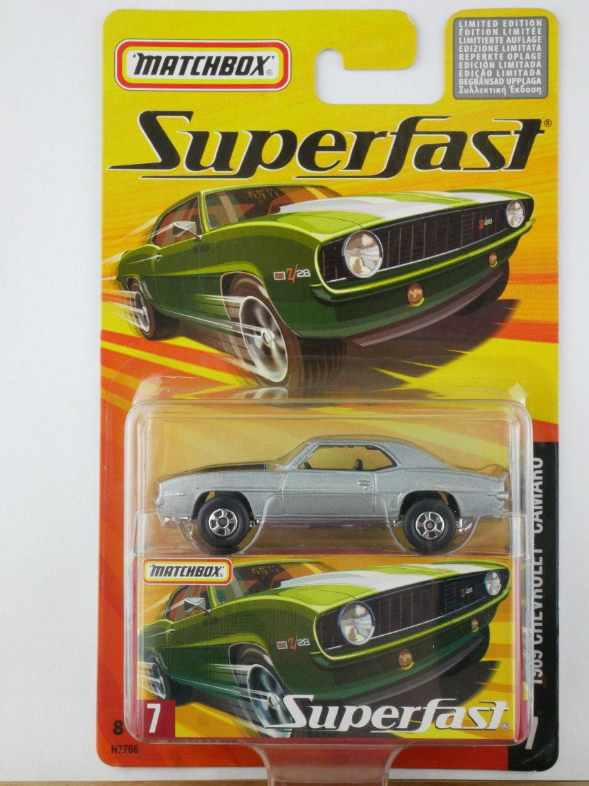 07 1969 Chevrolet Camaro - 12013