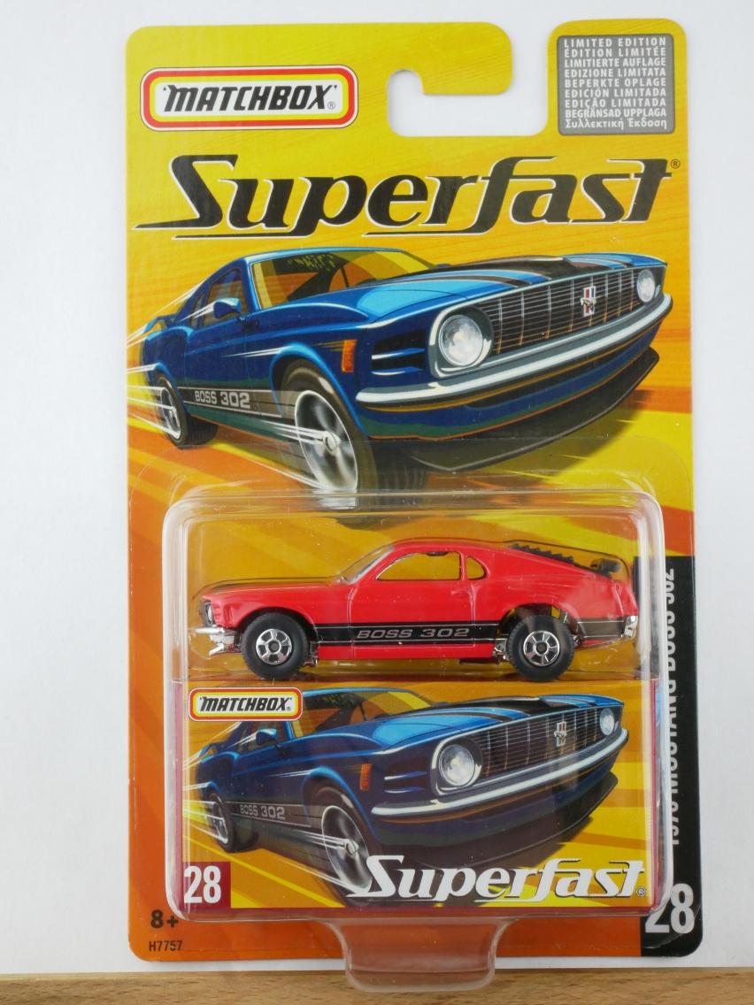 28 1970 Mustang Boss 302 - 12055