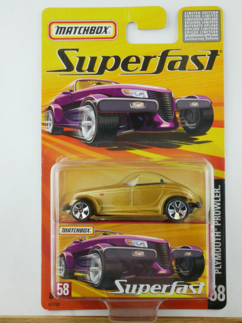 58 Chrysler Plymouth Prowler - 12115