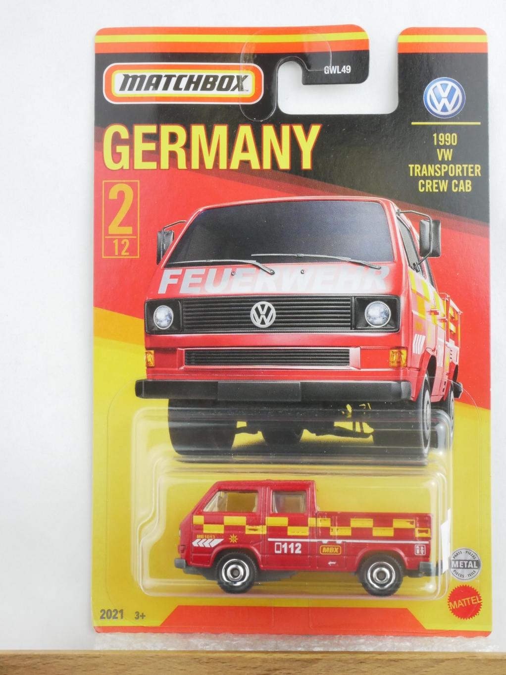 #02 VW Transporter Crew Cab - 12294