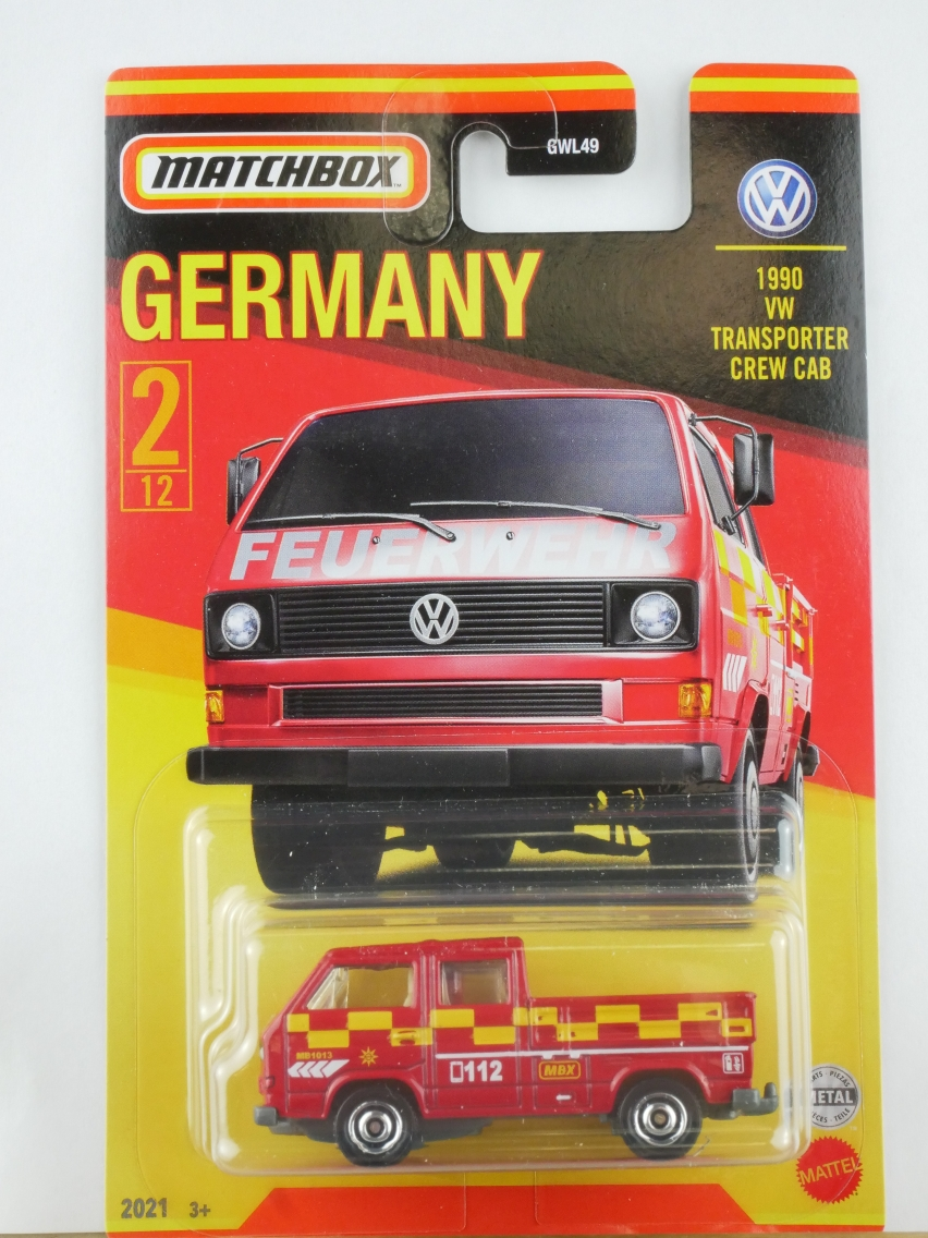 #02 VW Transporter Crew Cab - 12295