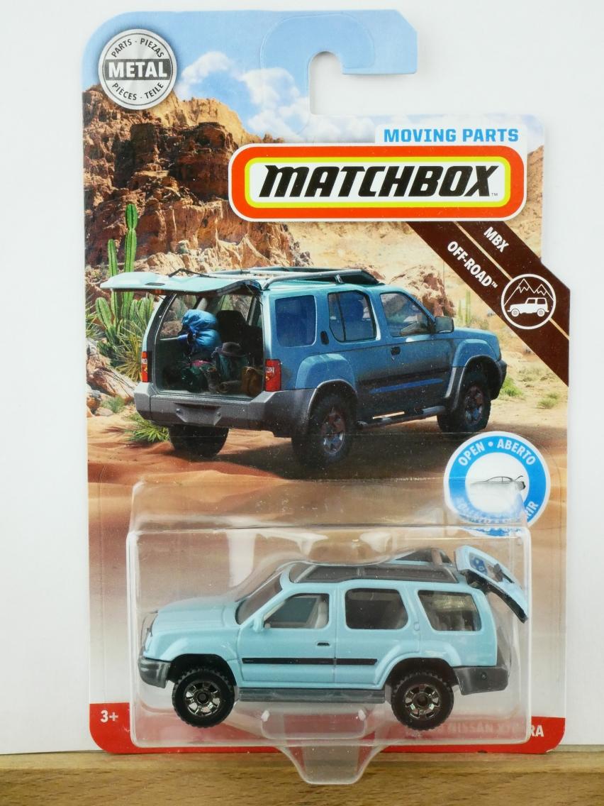 Matchbox Moving Parts 2000 Nissan Xterra - 13487