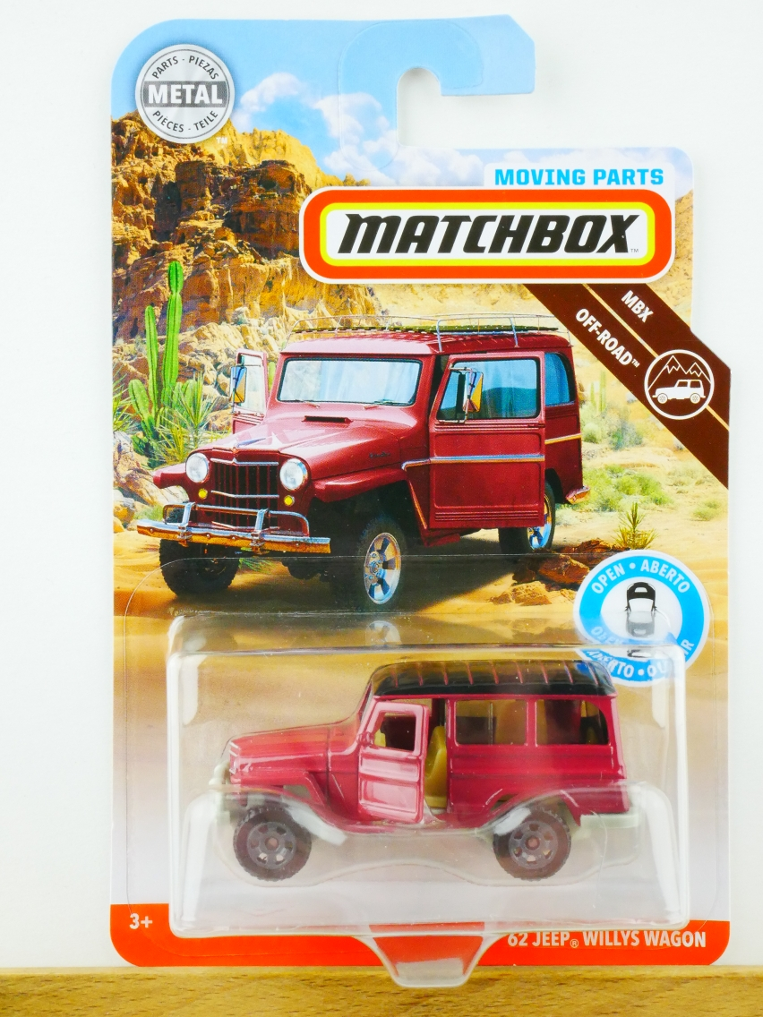 Matchbox Moving Parts '62 Jeep Willys Wagon - 13554