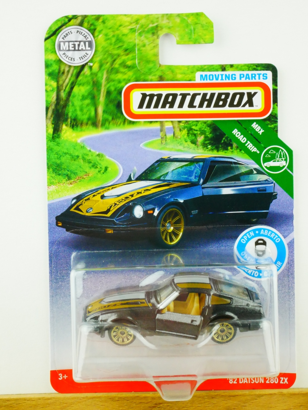 Matchbox Moving Parts '82 Datsun 280 ZX - 13557