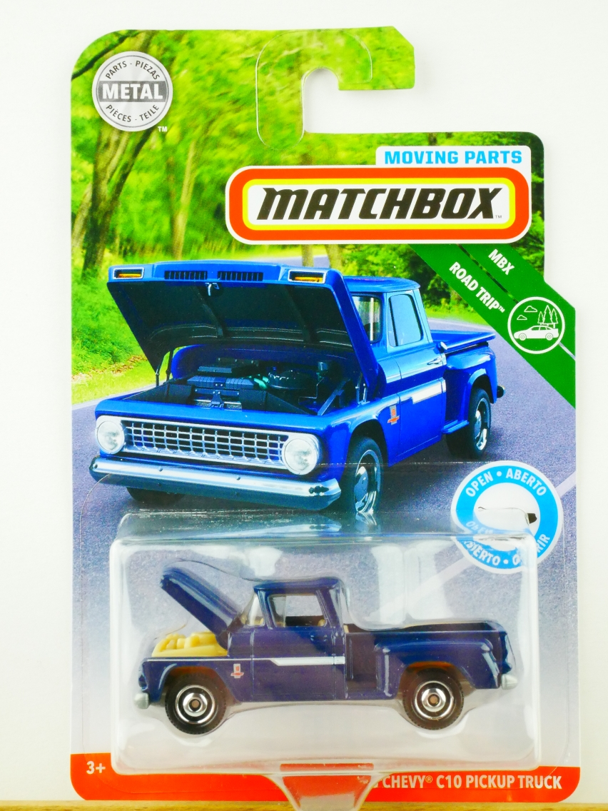 Matchbox Moving Parts '63 Chevy C10 Pickup Truck - 13558