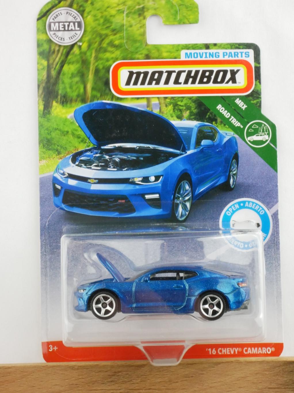 Matchbox Moving Parts '16 Chevy Camaro - 13559