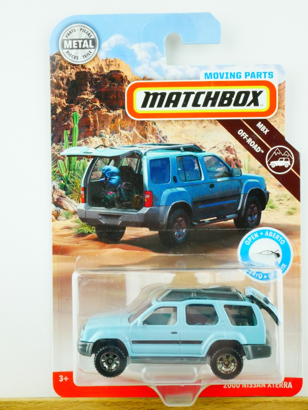 Matchbox Moving Parts 2000 Nissan Xterra - 13560