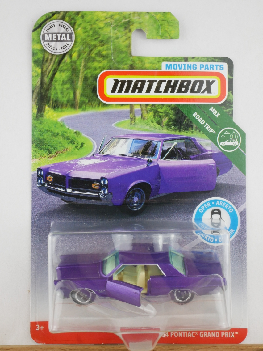 Matchbox Moving Parts 1964 Pontiac Grand Prix - 13561
