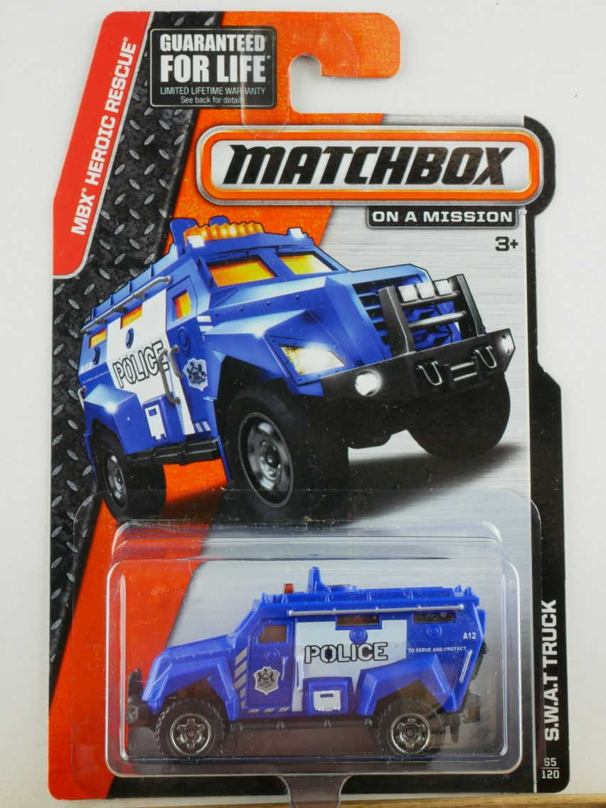 S.W.A.T. Truck - 13697