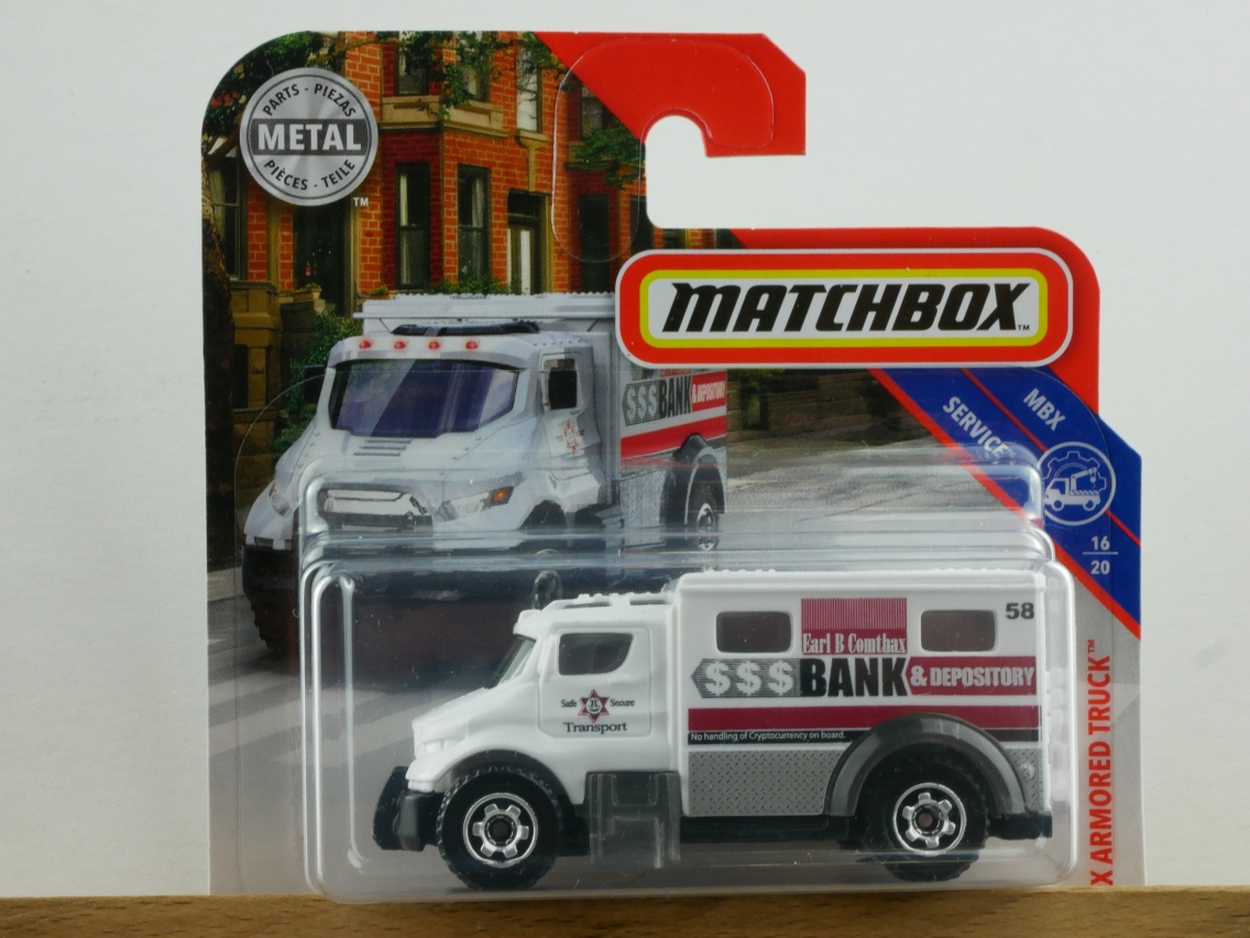 MBX Armored Truck - 13725
