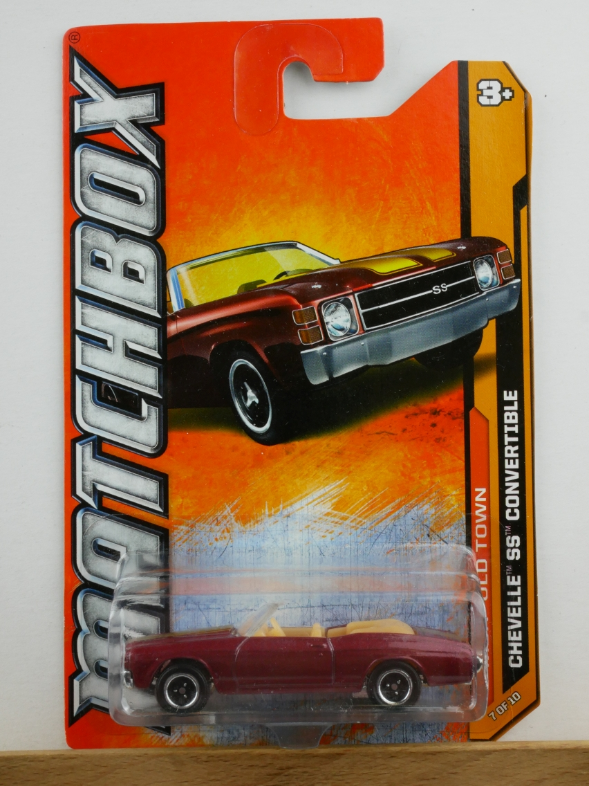 Chevy Chevelle SS Convertible - 13788