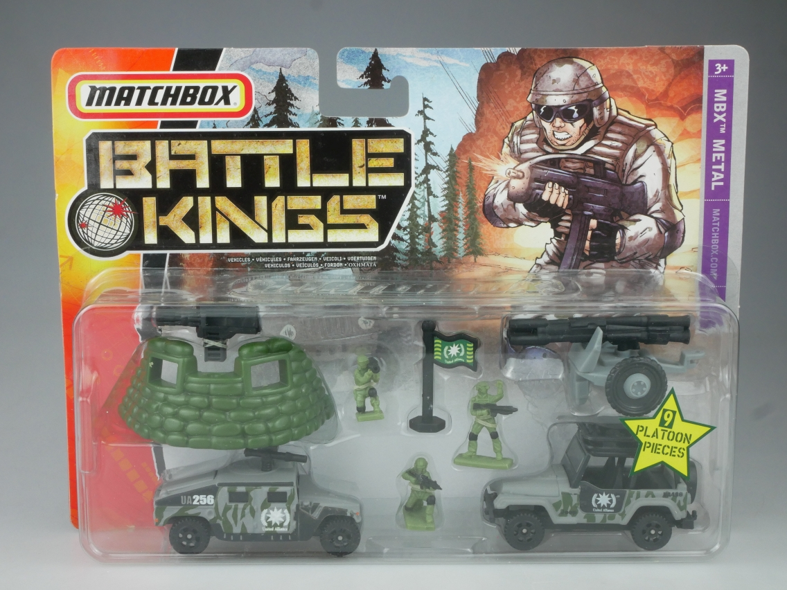 Battle Kings Have Courage! Mountain Mission - 13837