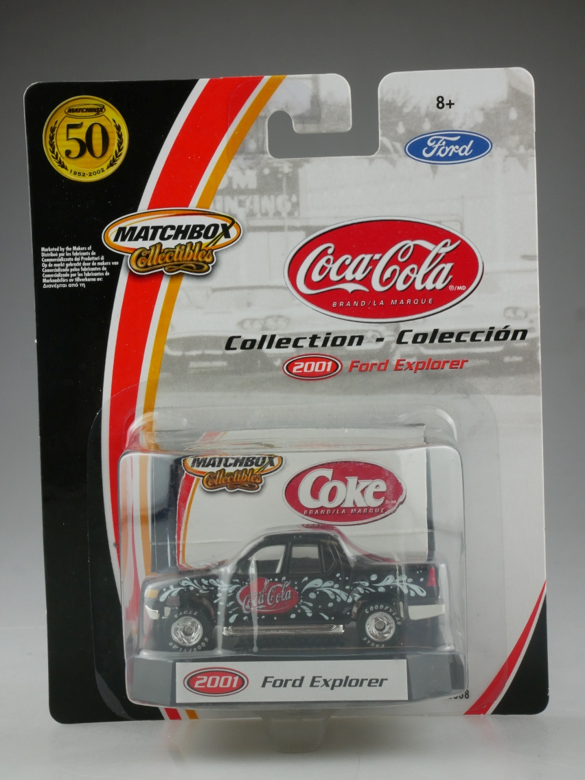 #04 Ford Explorer 2001 Coca-Cola - 13850