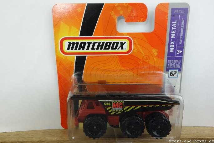 Dump Truck auf Trash Titan Blisterkarte - 14130