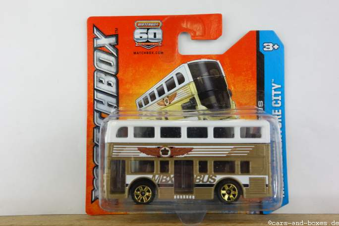 Two-Story London Bus - 14298