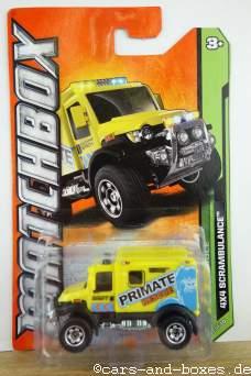 4x4 ScrAmbulance Primate Rescue - 14591
