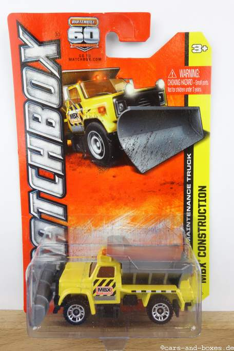 Highway Maintenance Truck Snow Plow - 14847