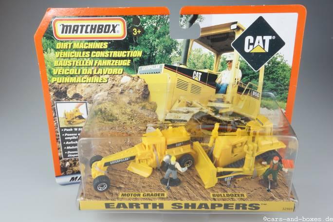Caterpillar Set Earth Shapers - 14865