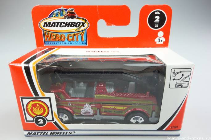 Snorkel Fire Truck / Feuerwehr - 14929