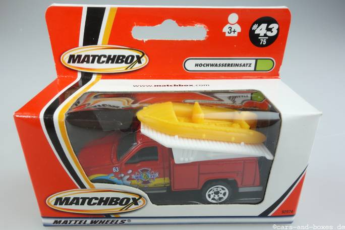 Ford F-Series Truck with Raft - 15006