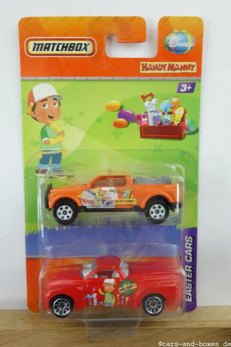Disney Handy Manny Easter Cars 2-Pack - 15300