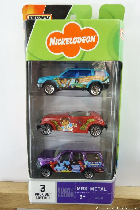 Nickelodeon Movie Mix 2007 3-Pack - 15310