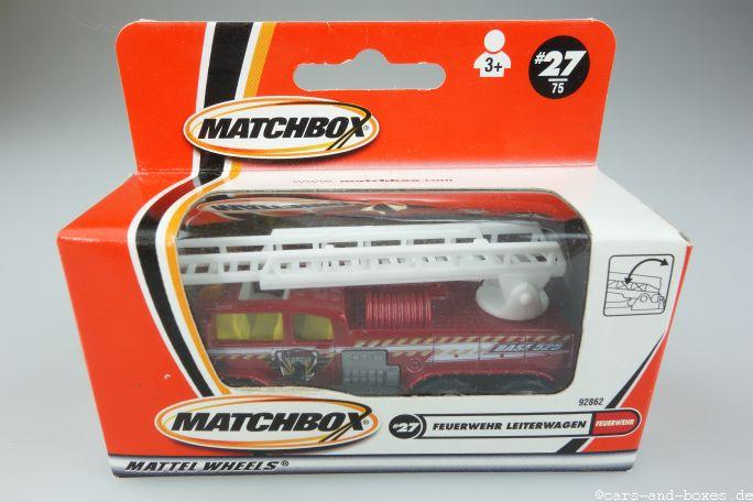 Fire Crusher Ladder Truck Feuerwehr - 15326