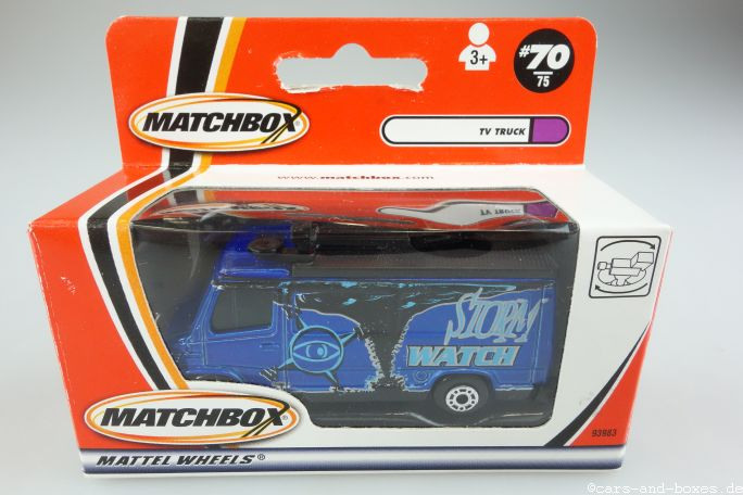 TV News Truck Storm Watch - 15371