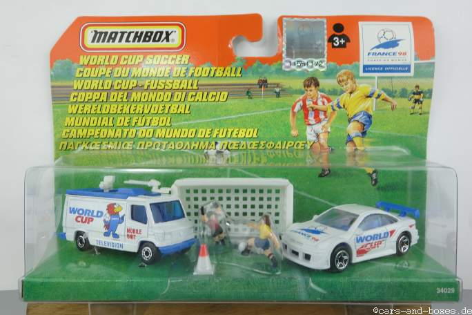 Adventure Pack World Cup Soccer France '98 - 16803
