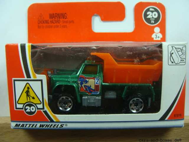 Highway Maintenance Truck Snow Plow - 17216
