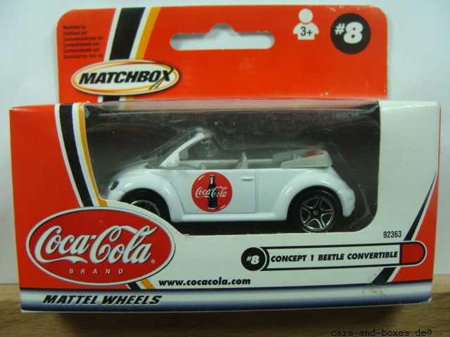 Volkswagen VW Concept 1 Beetle Convertible Coca-Cola - 17267