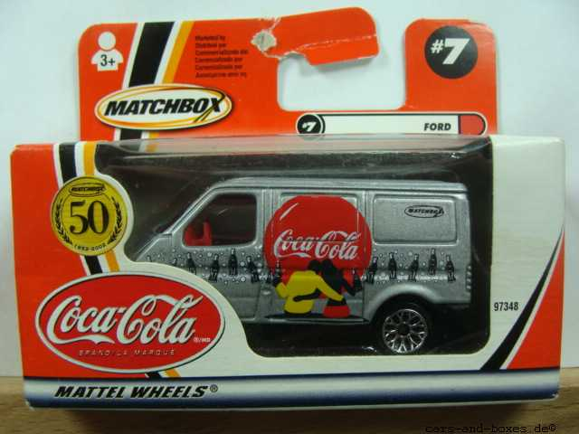 Ford Transit Van Coca-Cola - 17274