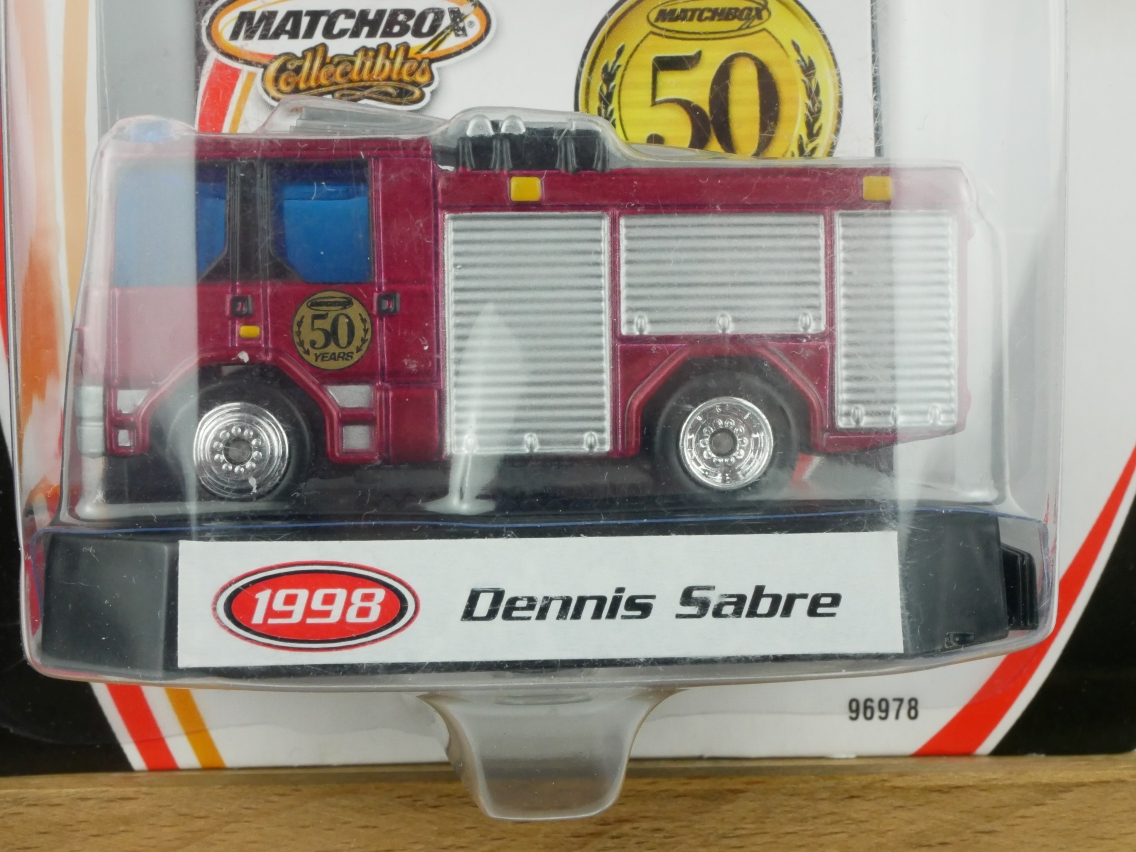 #4 Dennis Sabre Fire Engine - 17322