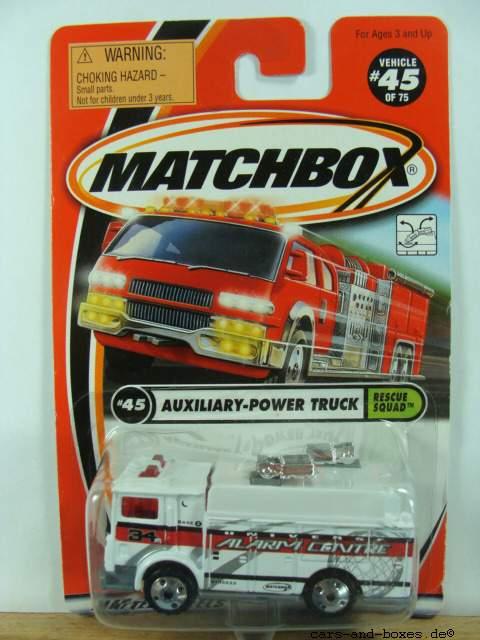 Mack Auxiliary Power Truck - 17910