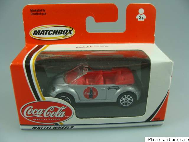 Volkswagen VW Concept 1 Beetle Convertible Coca-Cola - 18142