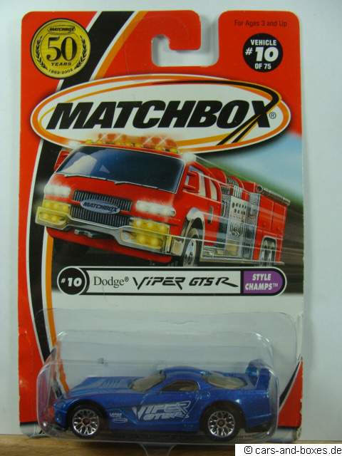 Dodge Viper GTS-R - 18155